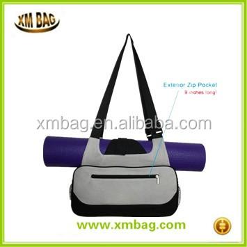 997769da4b Eco-Friendly stylish yoga bag logo printed Wear resistant high quality canvas  yoga mat bag