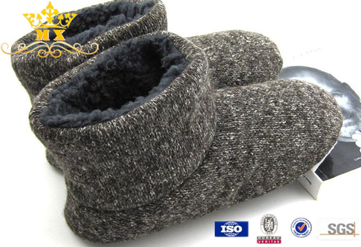 High Quality Winter Best Mens Indoor Slippers Boots