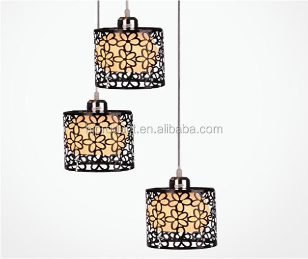modern pendant light covers indoor lamp shadethree lights glass round lamp shade
