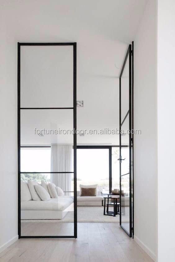 Dünne profil stahl türen mit doppel panel LOWE glas-Fenster-Produkt ...