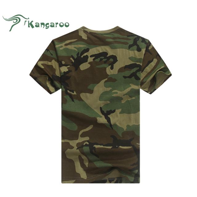 Men Summer Short Sleeve Cotton Military Tactical T Shirt Outdoor Camping Sports T-shirts Digital Desert Camo Elegant And Graceful Orologi E Gioielli