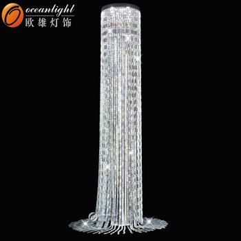 Customer size crystal chandelierfloor standing chandelierfloor customer size crystal chandelier floor standing chandelier floor lamp chandelier style om88543 aloadofball Gallery