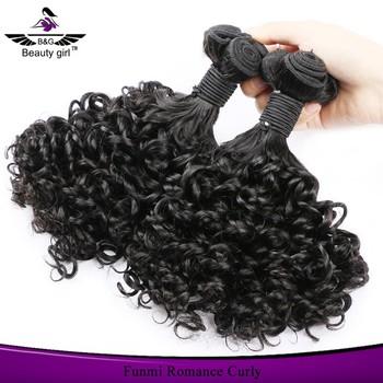 2017 Best Human Hair Real Tangle Free Brazilian Virgin Weave Romance Curl