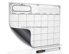 A3 Size 0.8mm Thickness New Type Magnetic Board Soft PVC Message Board Fridge Whiteboard Magnetic White Board