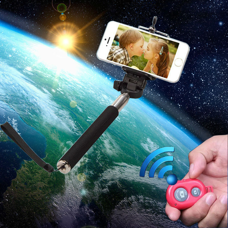 monopod selfie stick, bluetooth monopod with remote