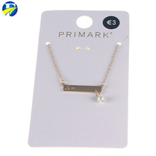 FJ brand wholesale Latest Fashion alloy Engraved girls Necklace accessories jewelry