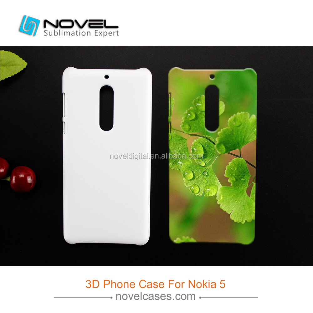 3D Phone Case Sublimation For Nokia 5,Diy Blank Cover