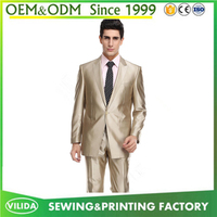 Custom high quality men's party dress suit new design bespoke men formal suit