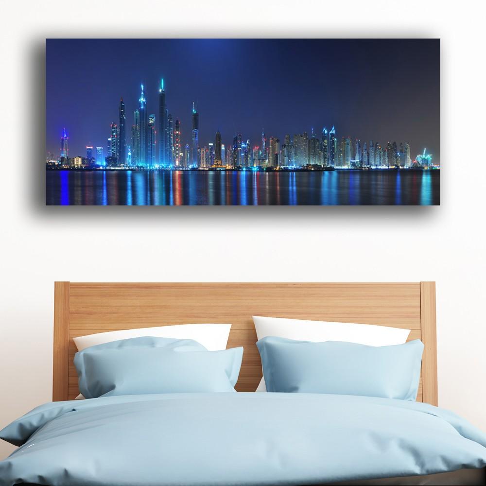 CANVAS OR PRINT WALL ART Hong Kong Lights