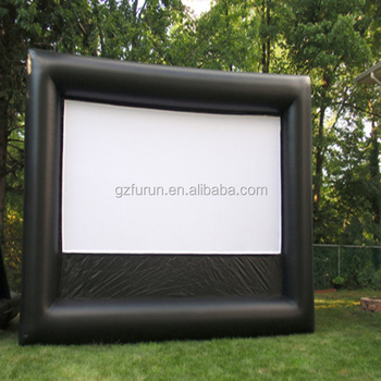 Outdoor Backyard Movie Used Rear Projection Inflatable ...