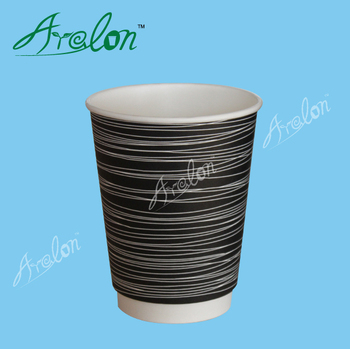 Food grade double wall coffee cups