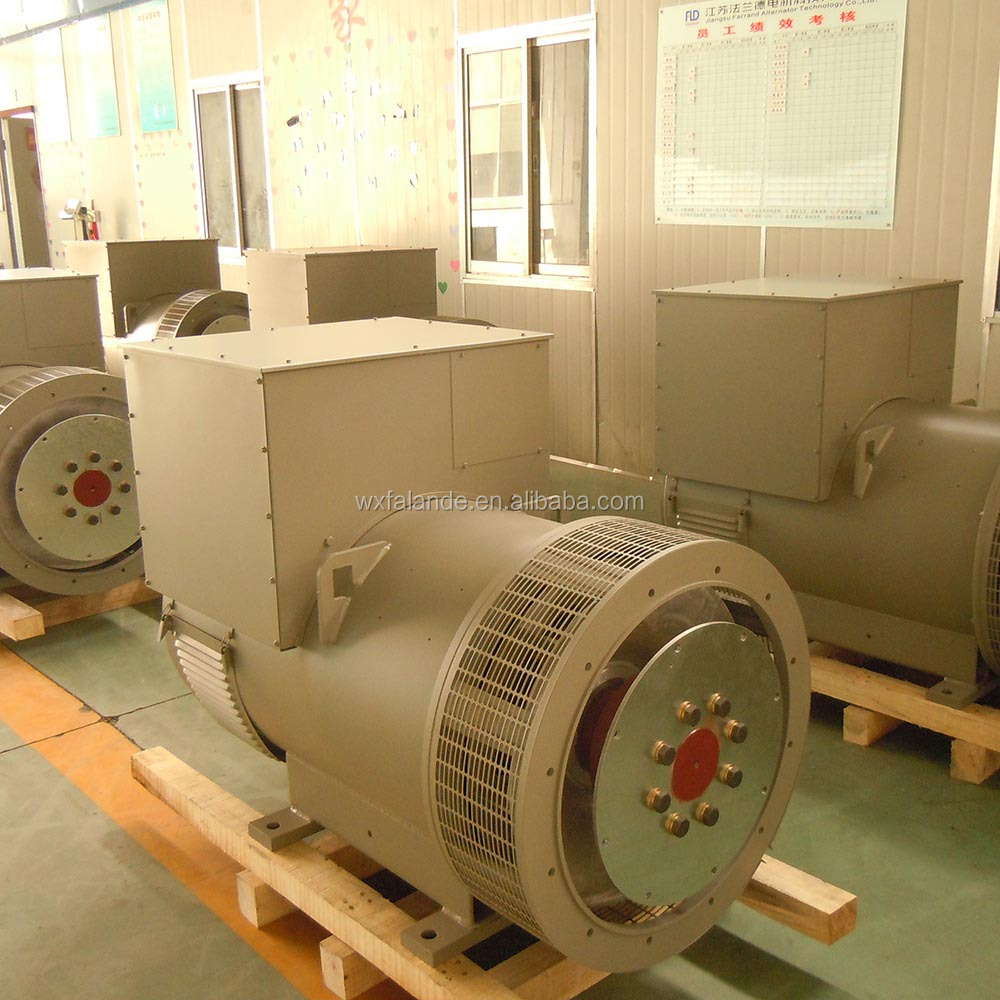 250 kva ac brushless generator alternator for diesel genset