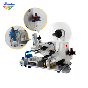 Factory price semi automatic label applicator for flat surfaces