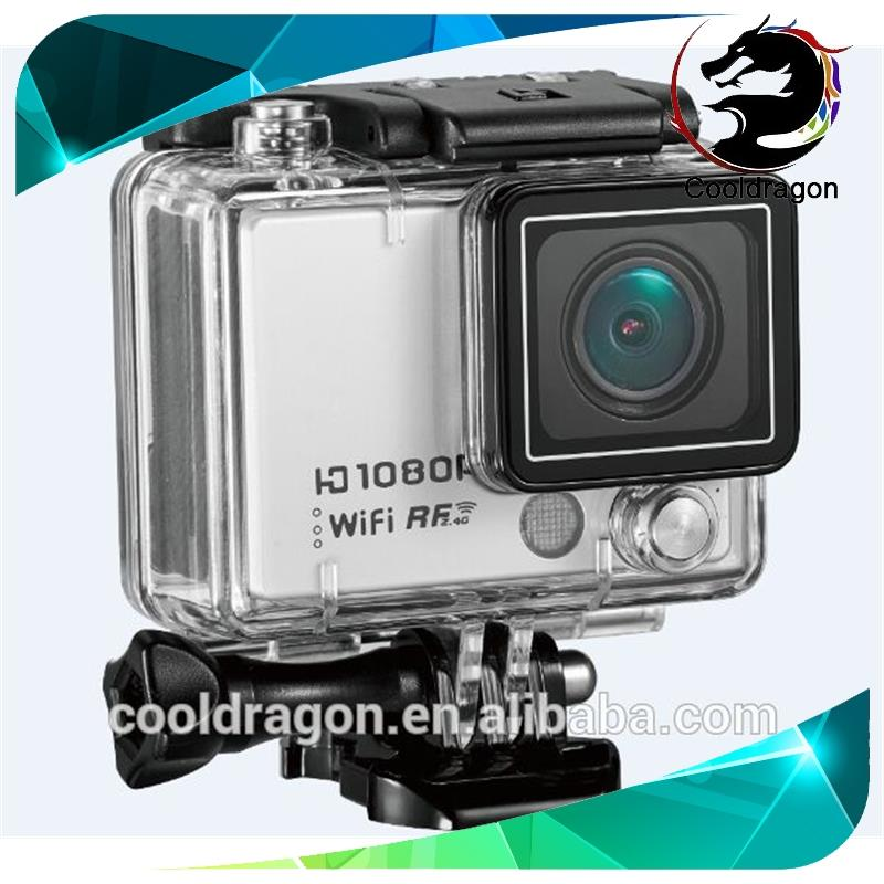 Cooldragon JM-AT300 2.0 LCD 1440P 1080P 8X digital Zoom snapshot Time Lapse wifi underwater ultra hd 4k sport camera