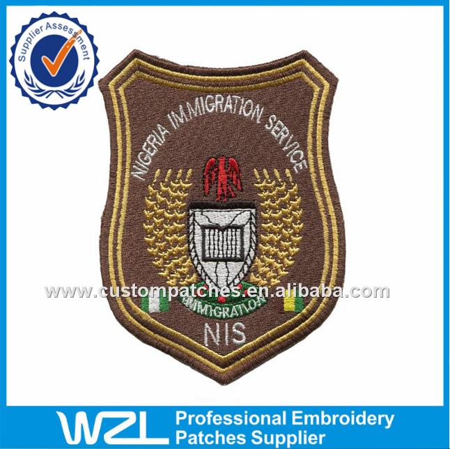 Clothing Embroidery Logo Designsnigeria Immigration Service Uniform