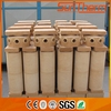 refractory brick with resistance to abrasion