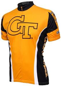 NCAA Georgia Tech Yellow Jackets Adrenaline Promotions Cycling Jersey by Adrenaline Promotions