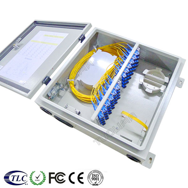 N [Tuolima]FTTH fiber termination box metal ftb 32 port