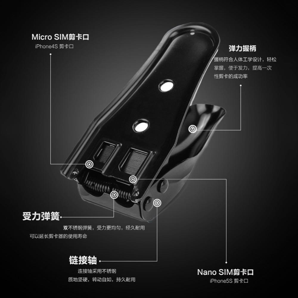 Двойной 2 в 1 Nano микро-sim-карты нож для Iphone4 4S 5 HTC Nokia Samsung1K