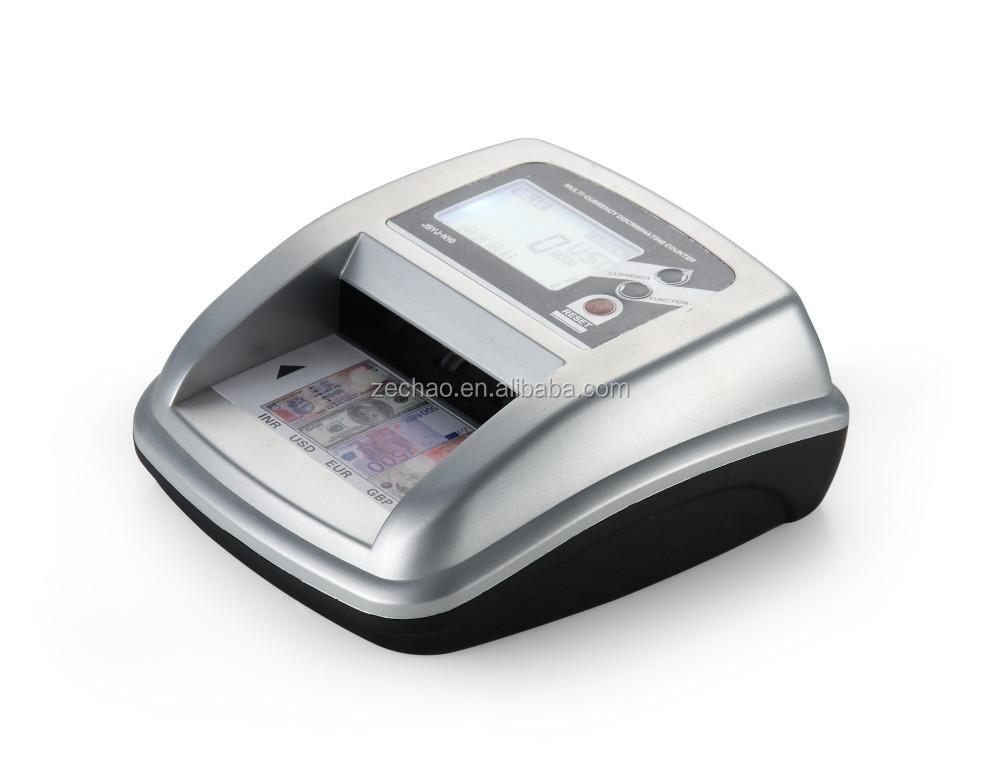 Uv Mg Ir Portable Money Detector Lcd Display New Design