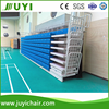 JY-750 Table Tennis Sports Stadium Theater Retractable Chairs Platform Seating