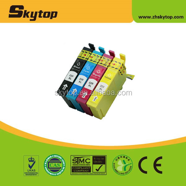 Hot! ink cartridge for EPSON T220 use for Epson WorkForce WF-2630,WF-2650,WF-2660