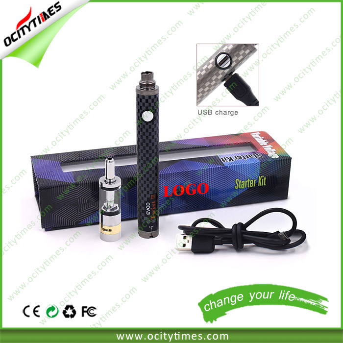 Ocitytimes new product 2015 Evod twist battery 1600mah Evod twist 2/Evod twist 3 Best quality E-cigarette