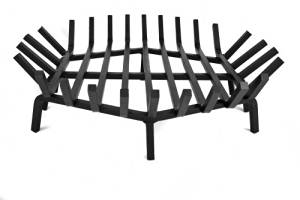 """33"""" Round Welded 5/8"""" Carbon Steel Fire Pit Grate"""