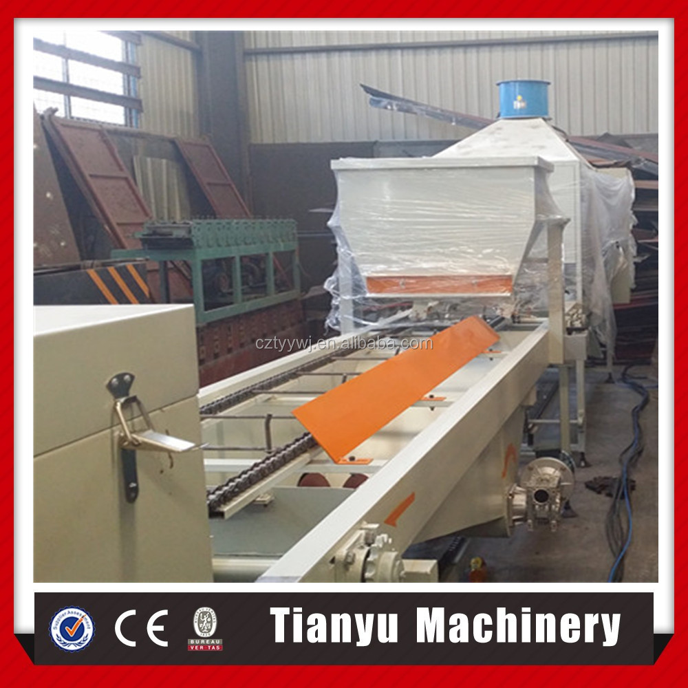 Color stone coated roof tile making roll forming machine production line price