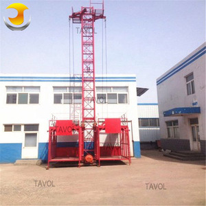 Construction Mast Lift SS100/100 Building Goods Elevator