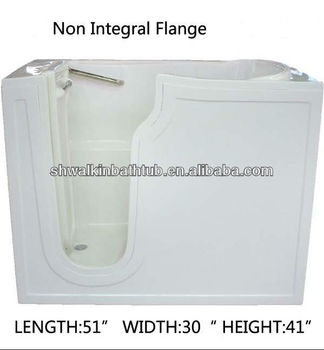 step in bathtub with seat opening door bath tub handicapped tub cwb3051 - Step In Bathtub