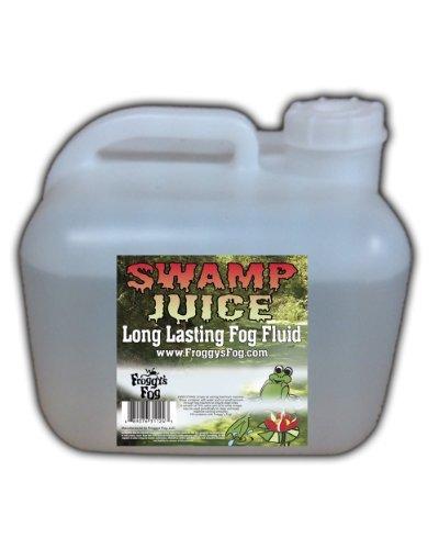 Froggys Fog - Swamp Juice (Extreme Hang Time Longest Lasting Fog Fluid) - 2.5 Gallon Square