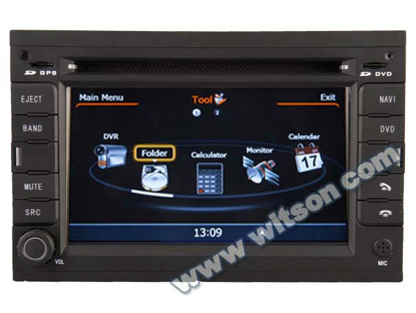 WITSON auto radio PEUGEOT 307 with A8 Chipset S100 Platform