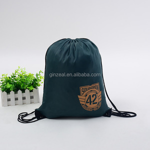 Drawstring Backpack Bag Mesh Microfiber String Bags