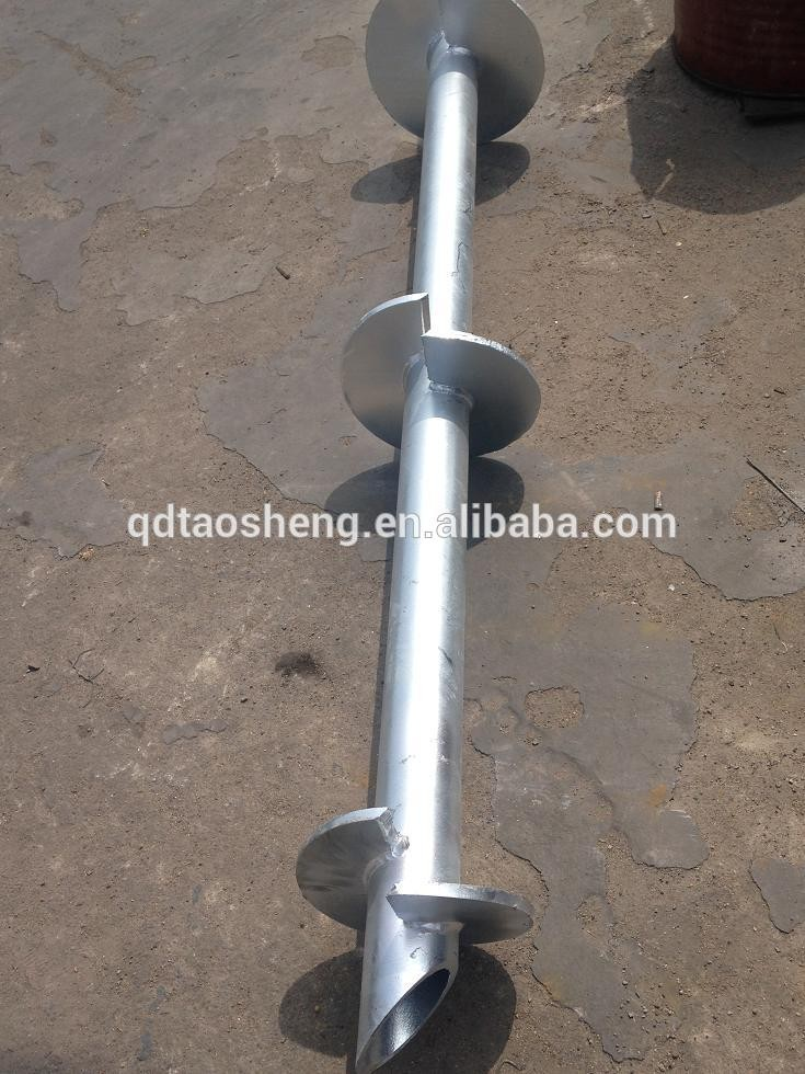 High Quality Helical Blade Pile Screw Piers Ground Helical Pier - Buy  Helical Blade Pile,Ground Helical Pier,Screw Piers Product on Alibaba com