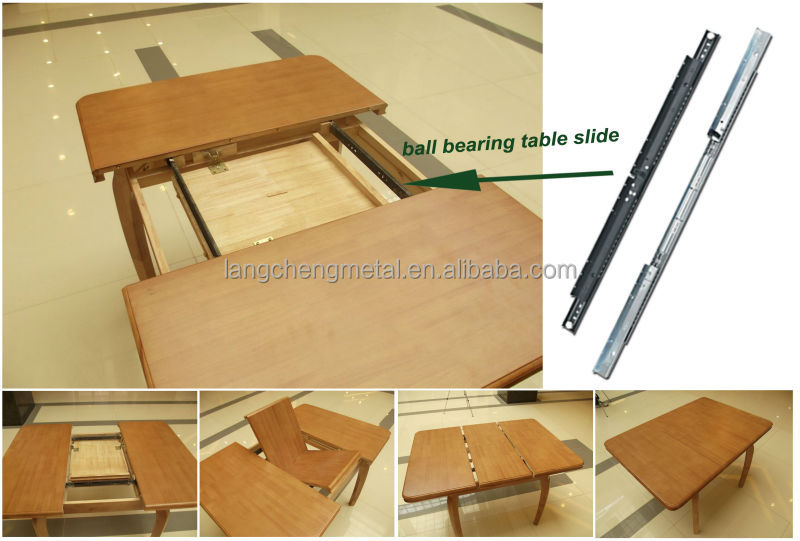Butterfly leaf table Hardware Steel Extension Slide