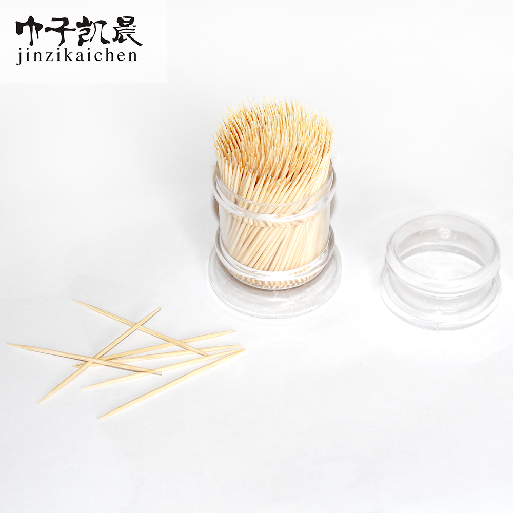 Hot Table Decoration & Accessories Type and Disposable Stocked Eco-Friendly Feature Bamboo Toothpicks in Bulk