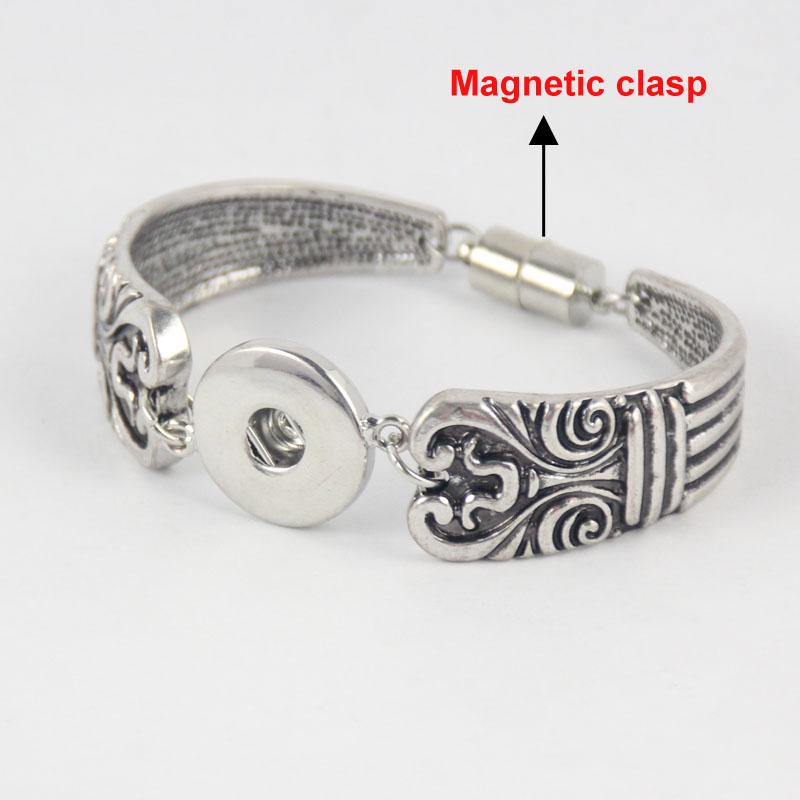 Magnetic Charm Bracelet: 1pcs/lot Alibaba Aliexpress DIY Interchangeable Metal Snap