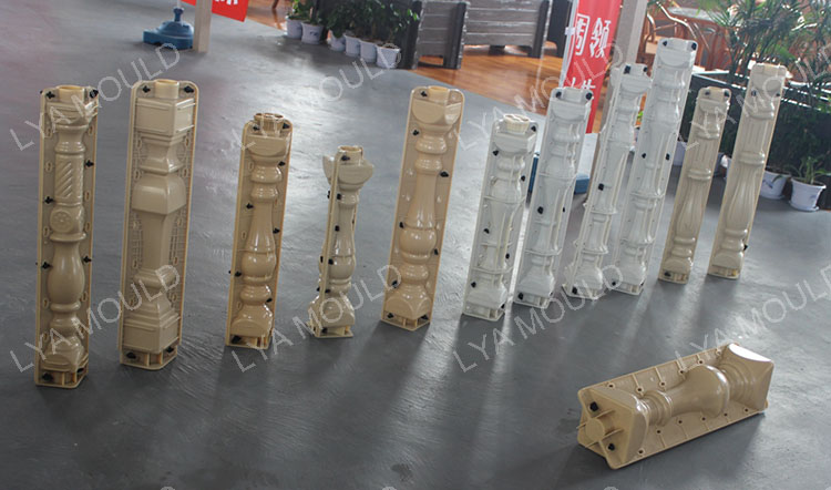 Precast Concrete Fence Concrete Molds Decorative Forms For