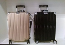 Aluminum frame Borderline PC carry-on trolley suitcase luggage