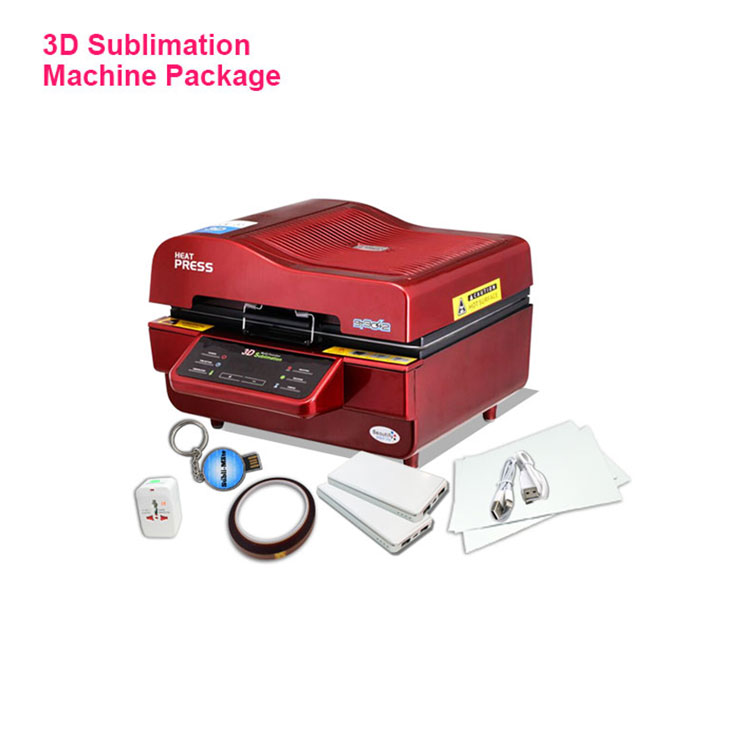 3D Sublimation Vacuum Heat Press Machine For Phone Case Printing