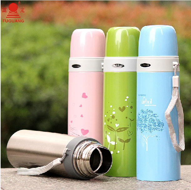 Fuguang high grade BJ002-500 500ml vacuum stainless steel thermos flask refills