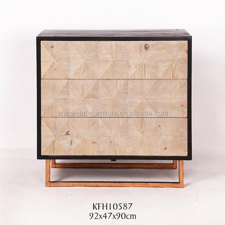 Attrayant Grossiste Meuble Deco #9: Nouveau Classique En Bois Récupéré Accentdrawer Cabinet, En Difficulté  Finition, Durable Meubles Décoratifs Pour