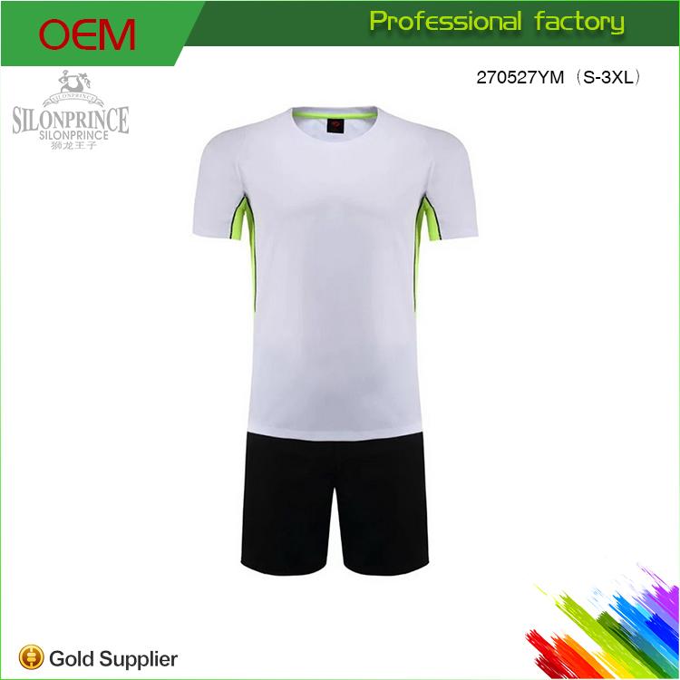 579f5b2072da7 2017 Nuevo blanco ropa deportiva ropa de diseño uniforme de fútbol trajes