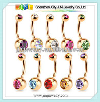 14k solid gold body jewelry