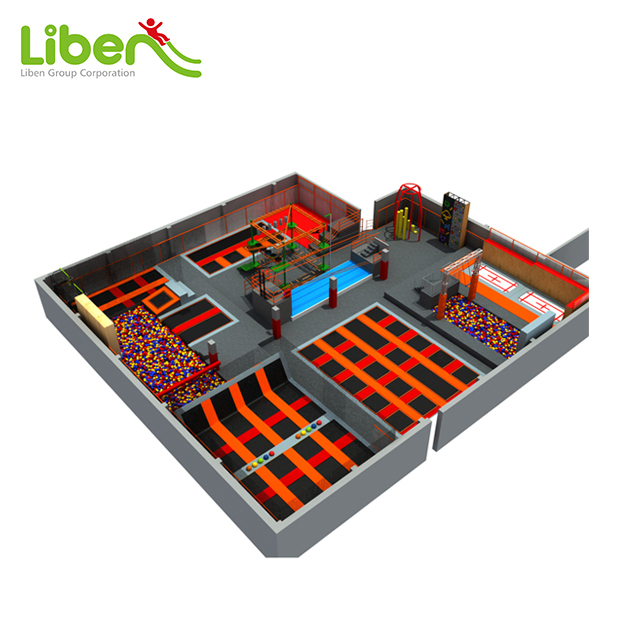 Built In Canada Trampoline Park by Liben