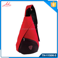 Popular fashion branded sling backpack,sport waterproof men sling bag