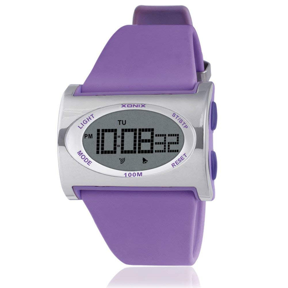 Children watch personality creative led luminous waterproof multifunction girl digital watch-F
