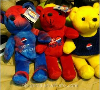 pepsi cola souvenir gift plush stuffed toys bears for promotion pepsi winter panda plush toy christmas - Best Toys Christmas 2014