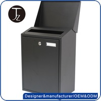 Casting Craftsman Stainless Steel Outdoor Water-proof Mail Delivery Post Office Box